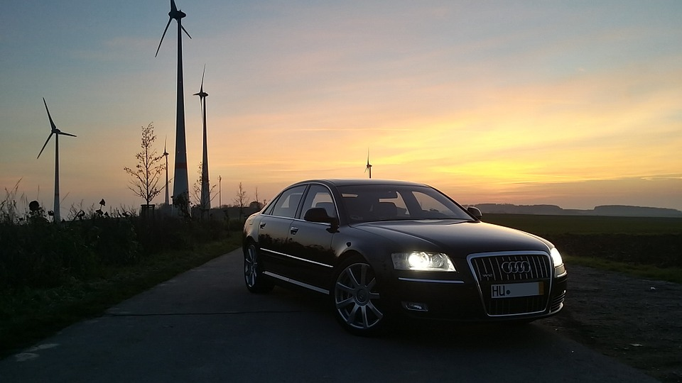 Audi Auto A Free Photo On Pixabay - Sunset audi