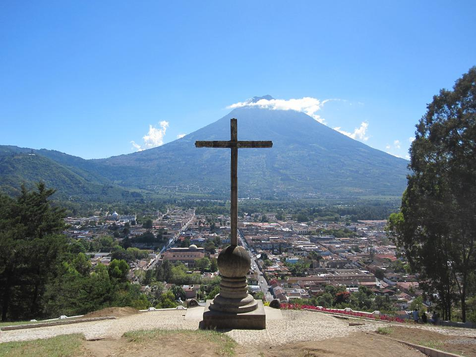 Gwatemala, Antigua, Ameryka, Centralna, Katolicki