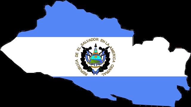 el salvador flag map  u00b7 free vector graphic on pixabay