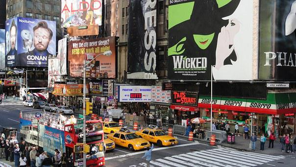 200 Free Times Square Broadway Images Pixabay