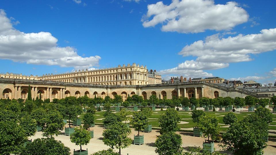 Versailles, Schloß, Paris, Sehenswürdigkeit, Garten