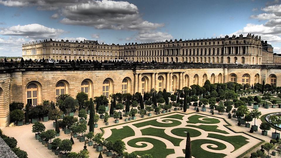 Versailles, Château, Paris, Lieux D'Intérêt, Jardin