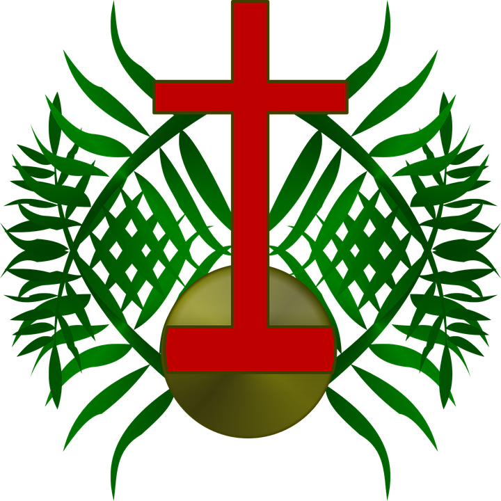 palm sunday logo free vector graphic on pixabay rh pixabay com free religious palm sunday clip art Palm Sunday Leaf Clip Art