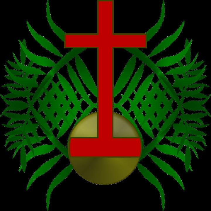 palm sunday logo free vector graphic on pixabay rh pixabay com Maundy Thursday Religious Clip Art Free free religious palm sunday clip art