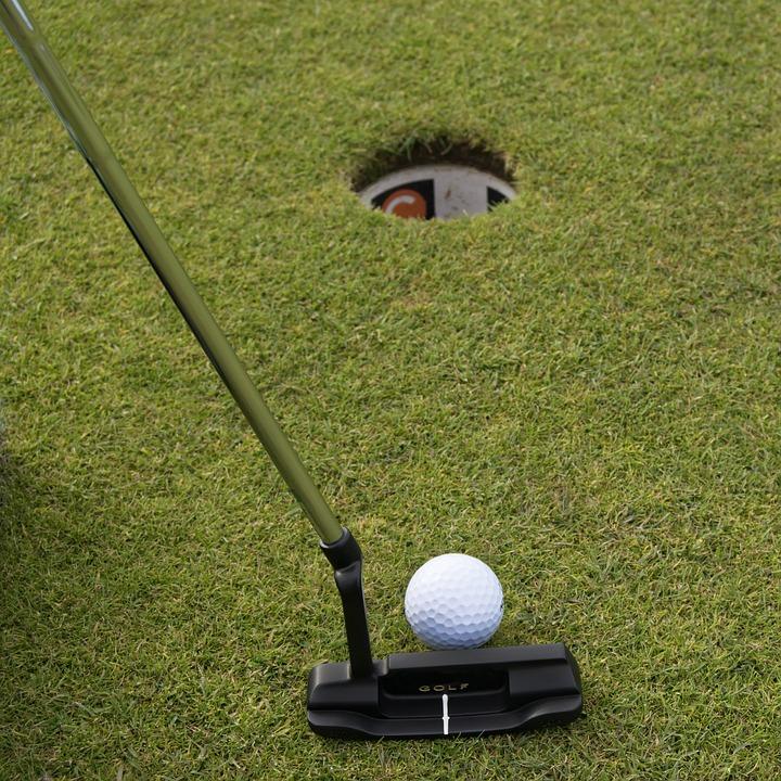 Golf, Boule, Balle De Golf, Club De Golf, Herbe