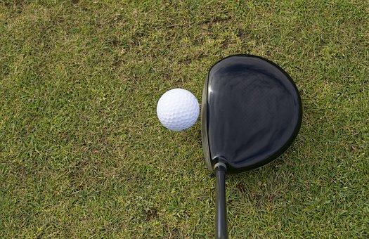 高尔夫, 球, 高尔夫球场球, 高尔夫俱乐部, 草, 运动, 游戏, 绿色