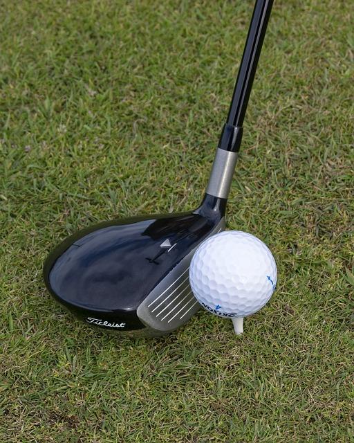 free photo golf club golf club 3 wood tee free. Black Bedroom Furniture Sets. Home Design Ideas