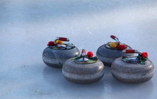 Curling, Bonspiel, Winter, Sport, Ice