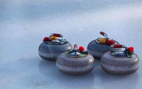 Curling, Bonspiel, Winter, Sport, Ice