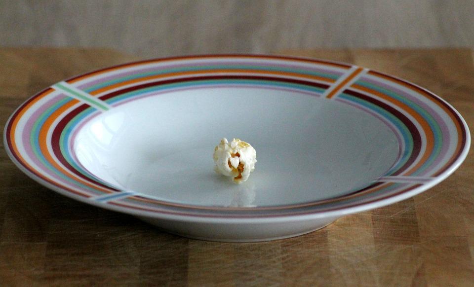Plate, Art, Popcorn, Corn, Food, Fair, Summer, Snack