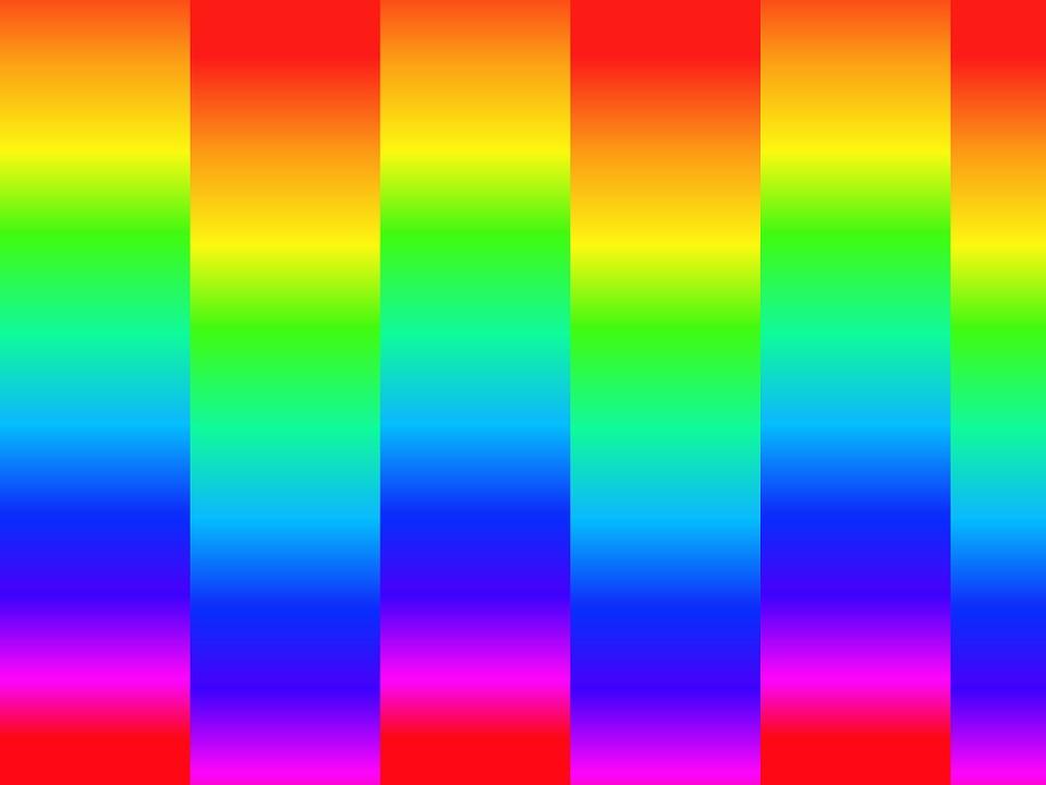Free illustration: Rainbow, Colour, Bright, Background