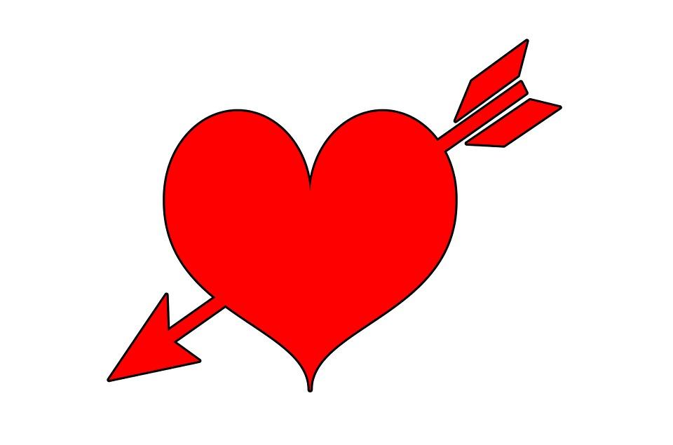 verliefd hart