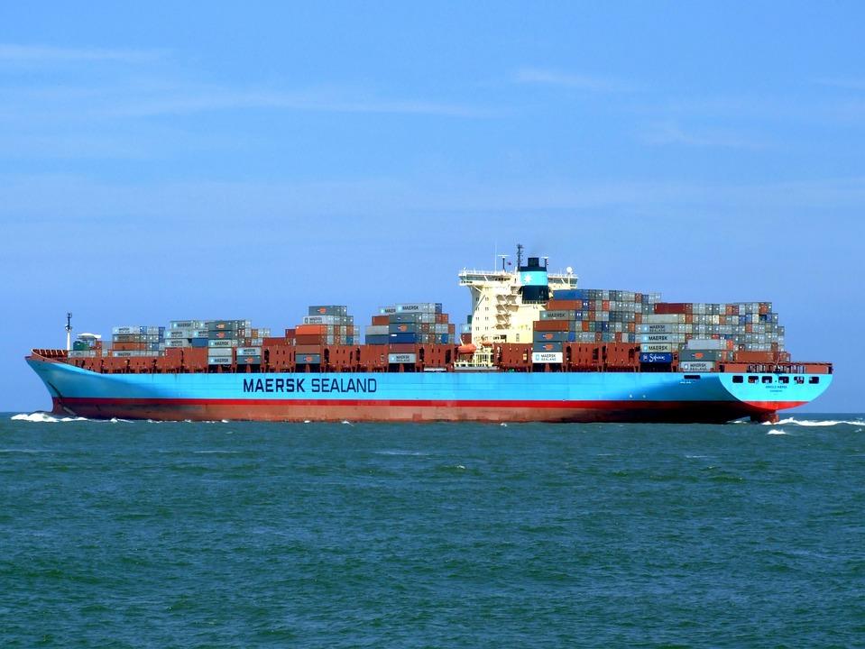 Arnold Maersk, Statek, Pojemnika, Towarowego, Ładunku