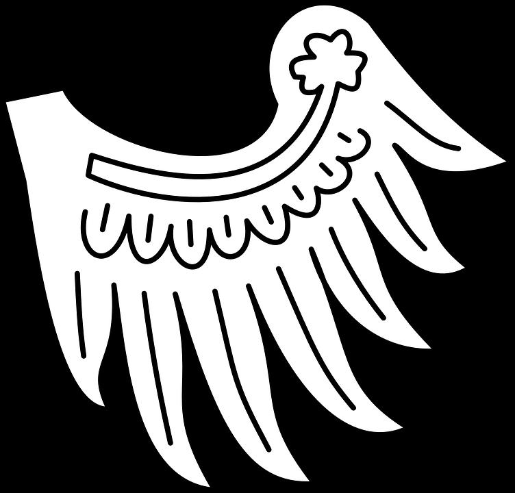 Wing Heraldry Symbol Free Vector Graphic On Pixabay