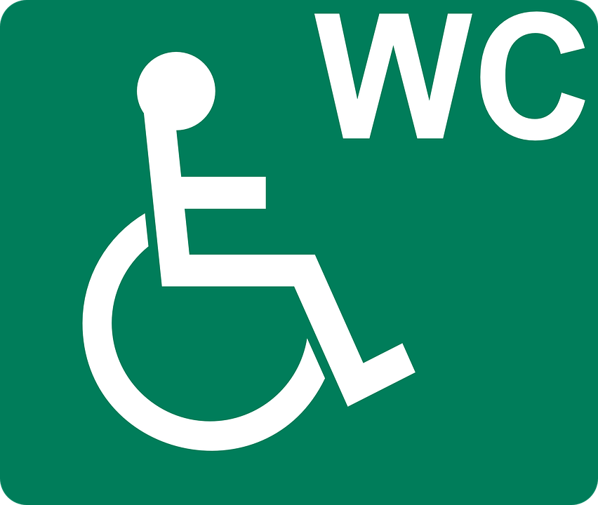 Pictogram  Disabled  Wheelchair  Toilet  Sign  Symbol. Free vector graphic  Pictogram  Disabled  Wheelchair   Free Image
