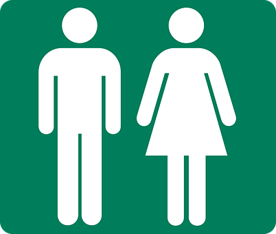 Pictogram Persons Toilet Wc Symbol Icon Ge