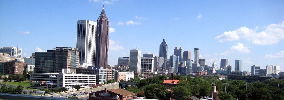 Free Photo Atlanta Downtown Midtown Skyline Free