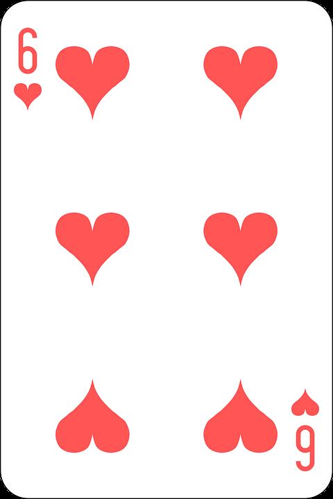 6 cards