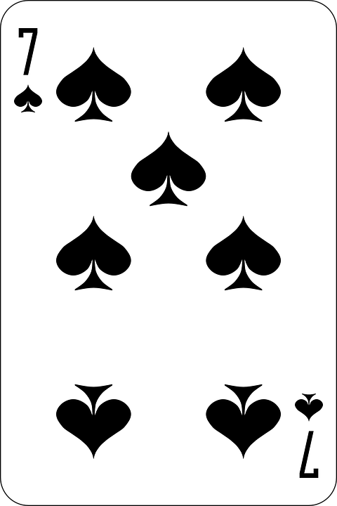 7 spade card game  Spades Seven Deck Playing - Free vector graphic on Pixabay