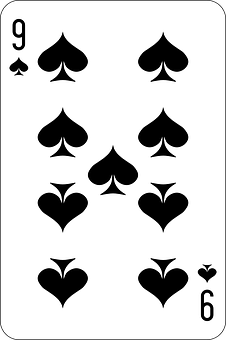 Spades, Nine, Deck, Playing Cards, Game
