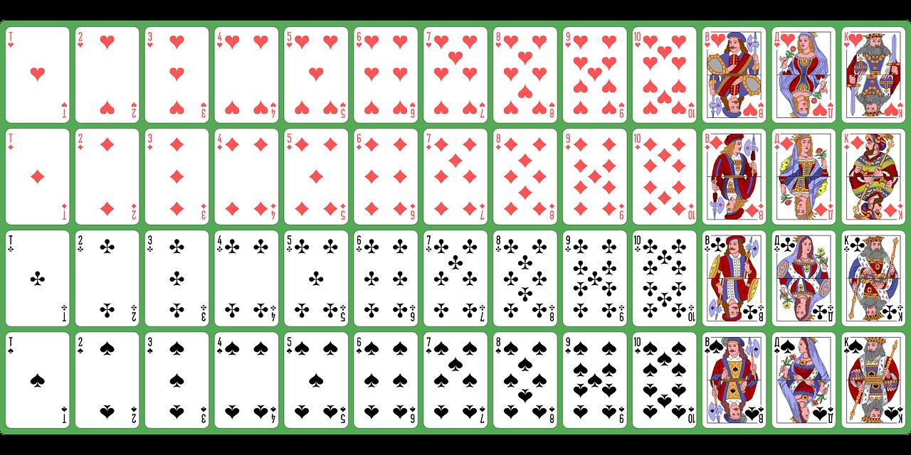 Как сделать игральные карты в