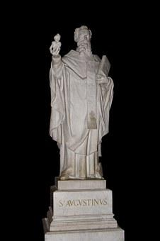 Saint Augustine, Statue, Sculpture
