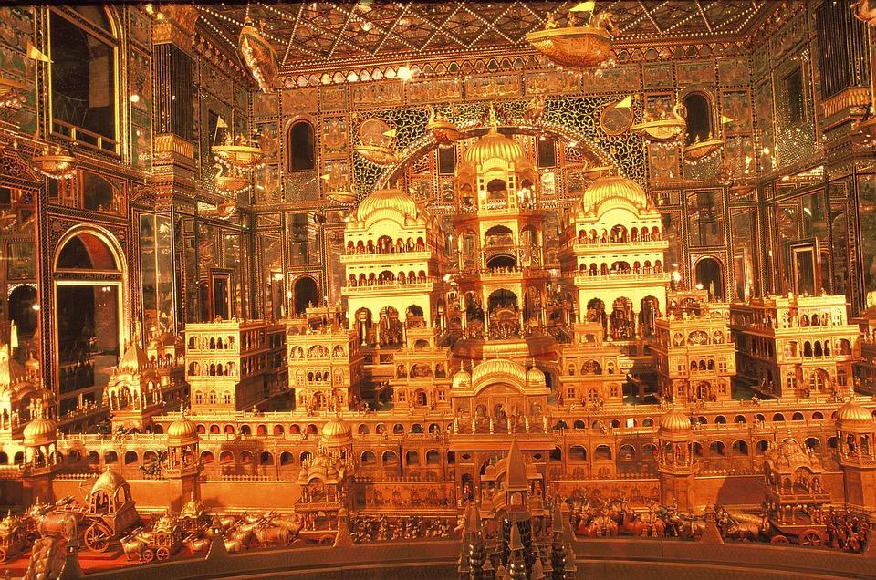 Jain temple in Ajmer