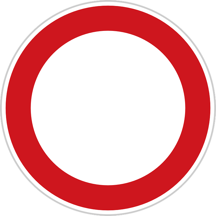 Free vector graphic: Road Sign, Forbidden, Prohibited ...