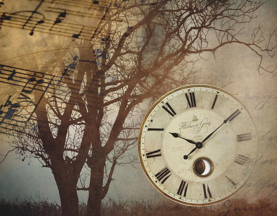 Reloj vintage m sica gr ficos vectoriales gratis en pixabay - Relojes grandes de pared vintage ...