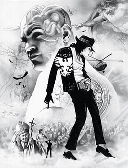 Michael Jackson Jackson Drawing Draw Art P