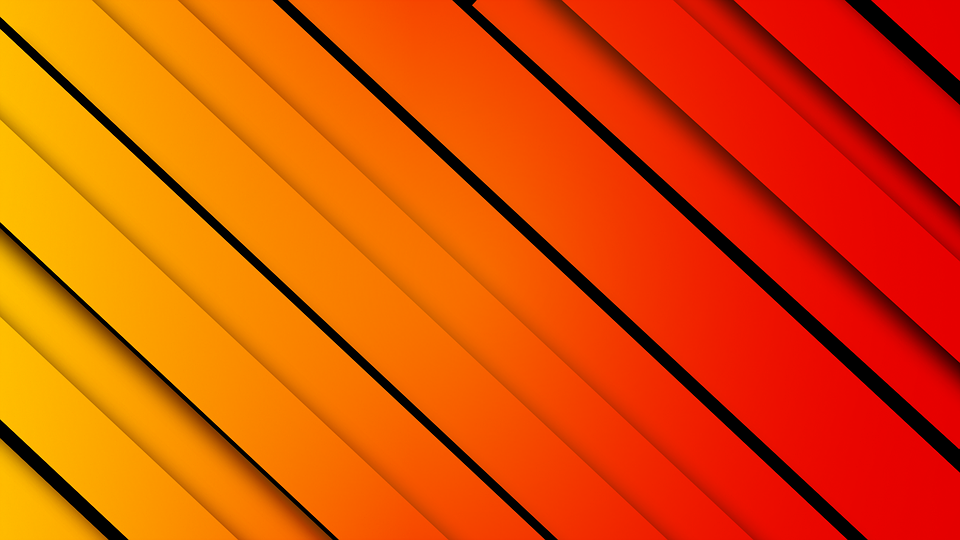 Free Illustration: Background, Red, Yellow, Lines