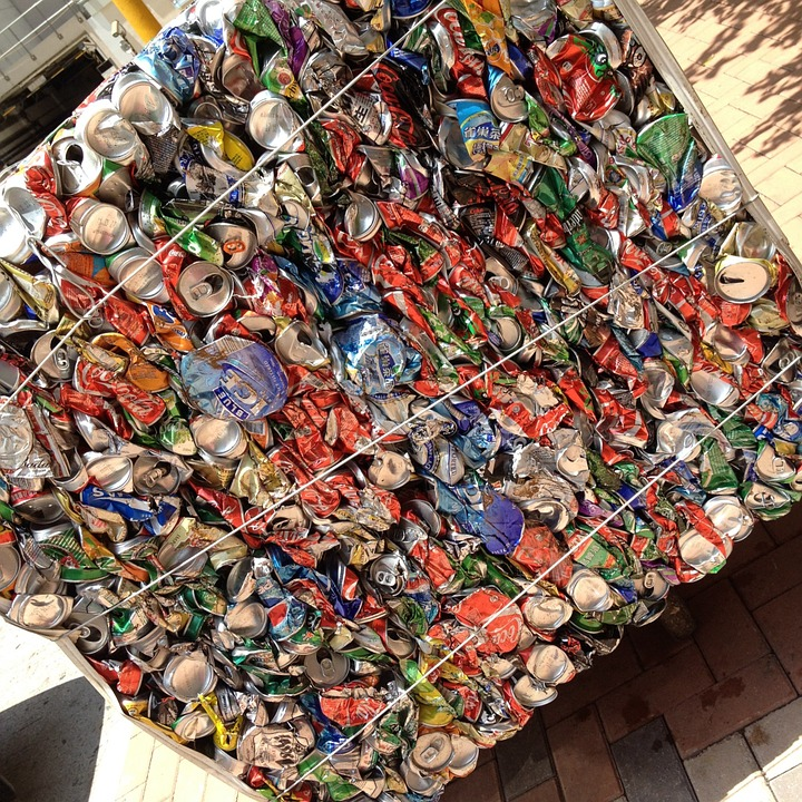 Free Photo Stack, Trash, Cans, Recycling - Free Image On -4116