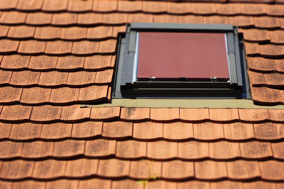 Roof, Roof Windows, Brick, Home