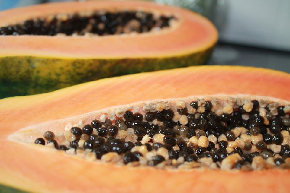 Papaya, Frutas, Comer, Exóticas