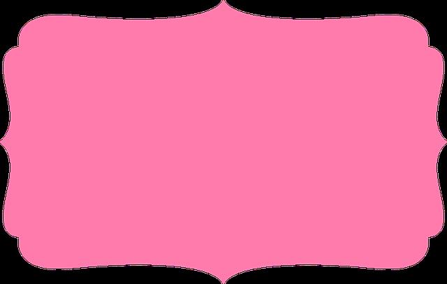 Ilustração Gratis: Quadro, Borda, Rosa