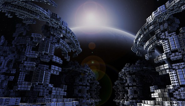 Space, Modern, Science, Fiction, Design