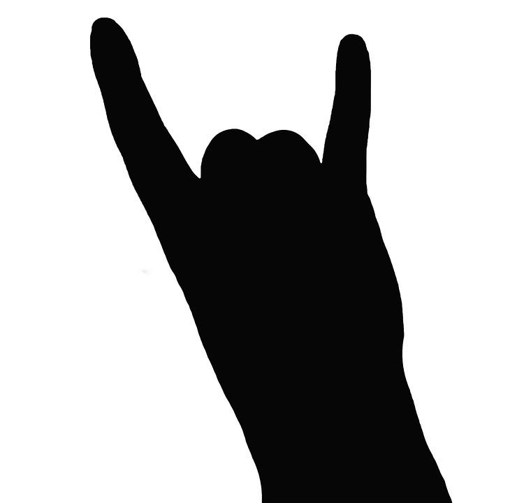 metal hand silhouette free image on pixabay