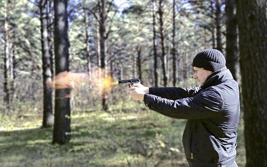 Man, Shooting, Shoots, Killer, Sleeve