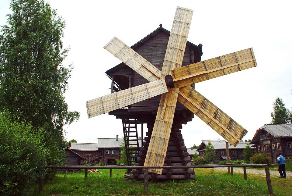 Карелия, Мельница, Памятник, Mandroki, Онежское Озеро