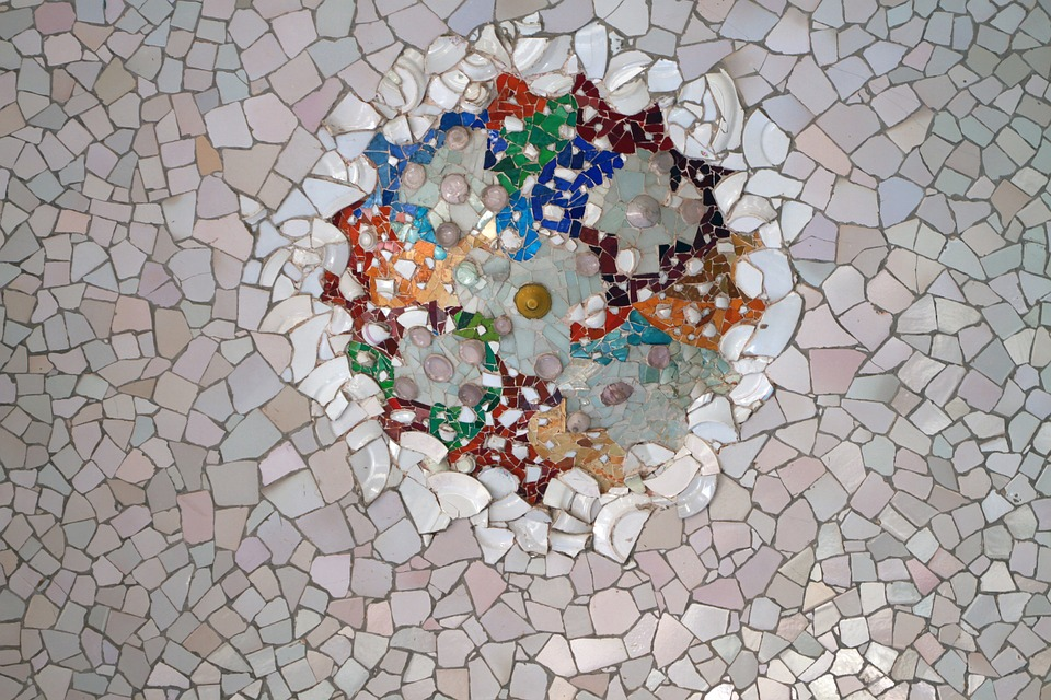 Free Photo Park Guell Mosaic Tile Gaudi Free Image