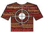 target, victim, deficiency