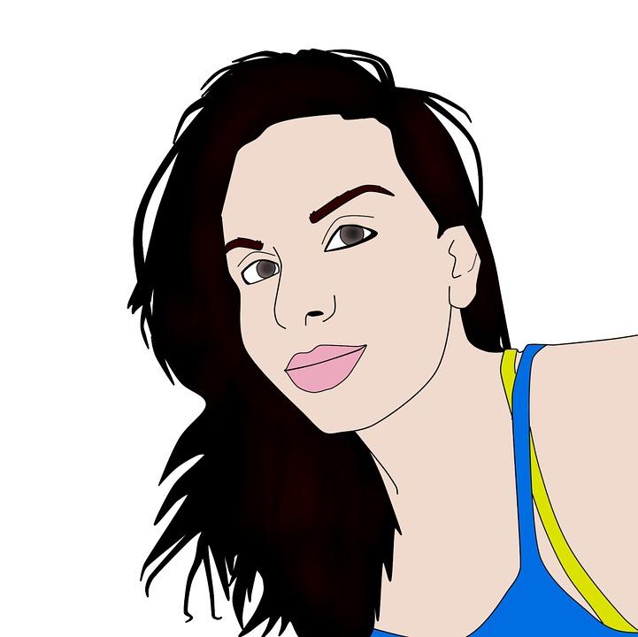 Illustration Visage femme illustration visage · image gratuite sur pixabay
