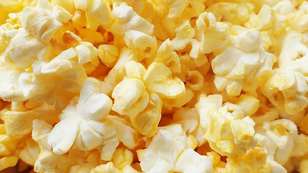 Popcorn Snack Food Buttered Pop Corn Salty