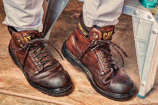 Work Boots Footwear Protection Leather Saf