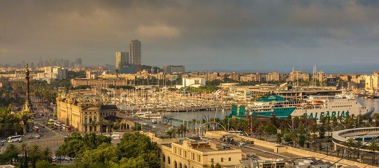 Qué ver qué hacer en Barcelona, panorámica de Barcelona