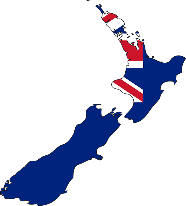 Free Vector Graphic New Zealand Map Country Flag Free Image - New zealand map png