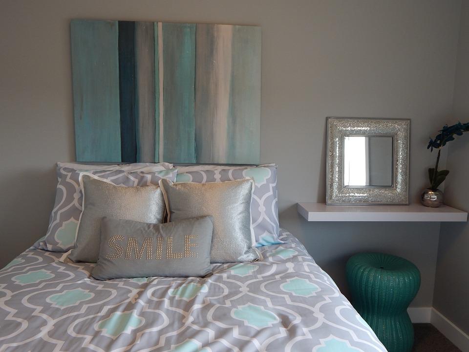 Bett Schlafzimmer Kissen Kostenloses Foto Auf Pixabay