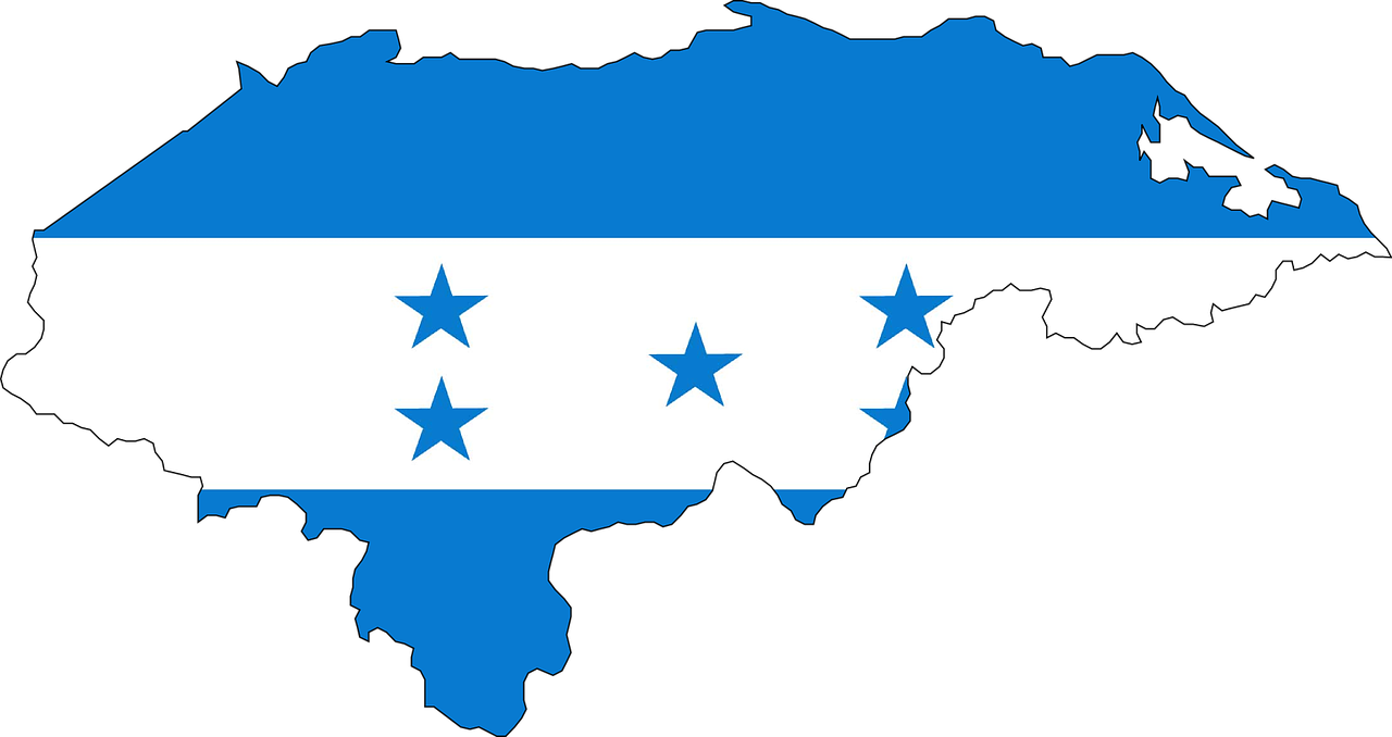 Honduras Central America Flag Free Vector Graphic On Pixabay
