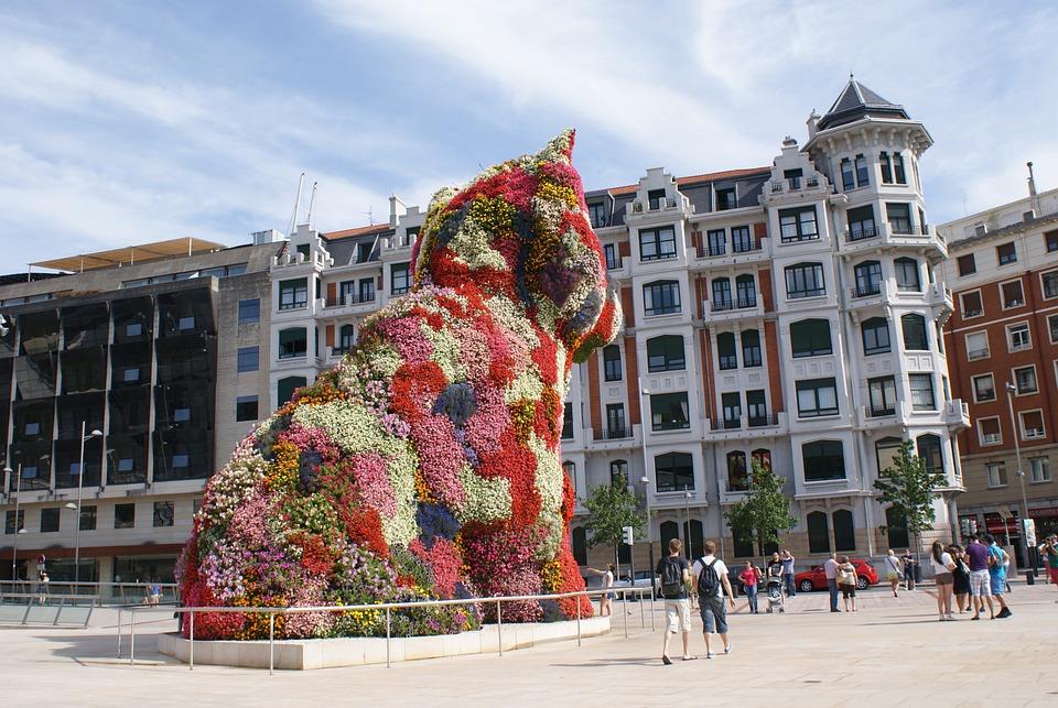 Statue Centre Ville Vitoria