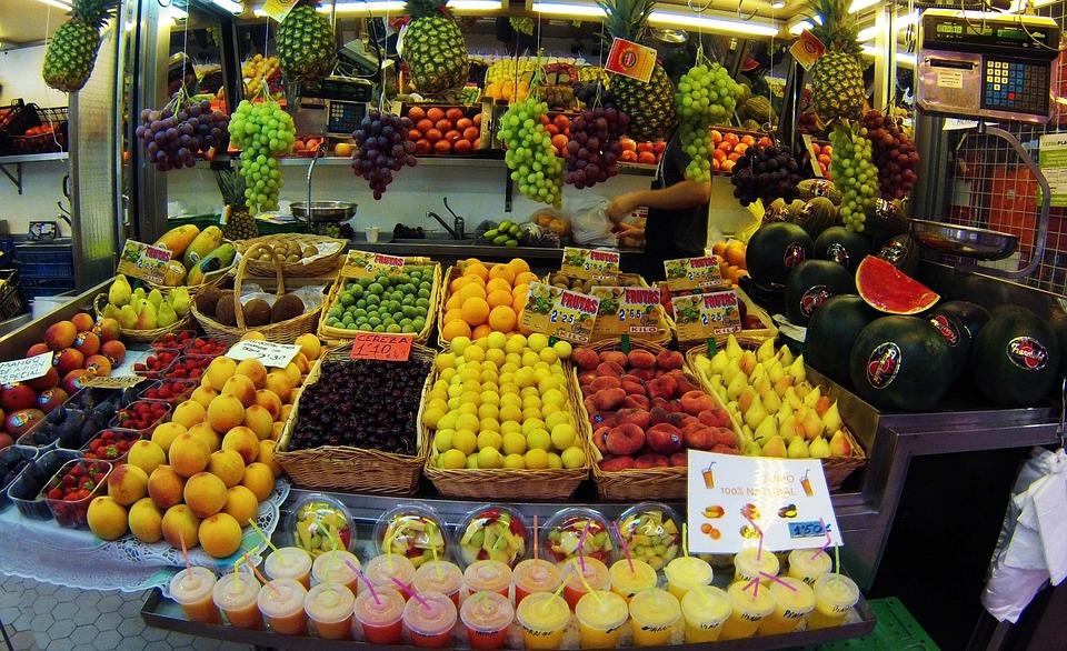 Valência, Espanha, Mercado Central, Região De Valencia
